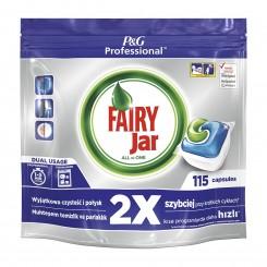 قرص ماشین ظرفشویی همه کاره 115 عددی فیری جار Fairy