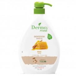شامپو بدن درمومد حاوی عسل مناسب انواع پوست حجم 1000 میل