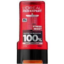 شامپو مو و بدن لورال مدل stress resist حجم 300 میلی لیتر