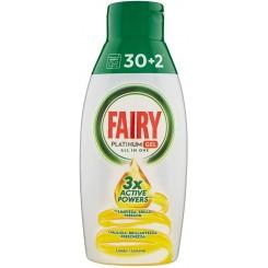 ژل ماشین ظرفشویی پلاتینیوم فیری با رایحه لیمویی Fairy