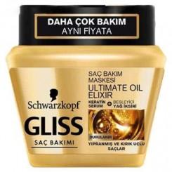 ماسک مو گلیس مناسب موهای آسیب دیده و موخوره دار حجم 300 میل
