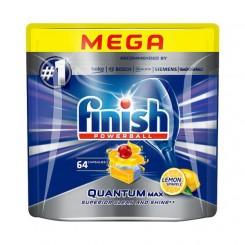 قرص ماشین ظرفشویی فینیش کوانتوم مکس 64 عددی