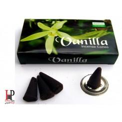 عود وانیل مخروطی Darshan Vanilla
