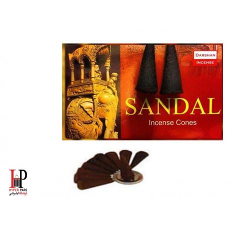 عود صندل مخروطی Darshan Sandal
