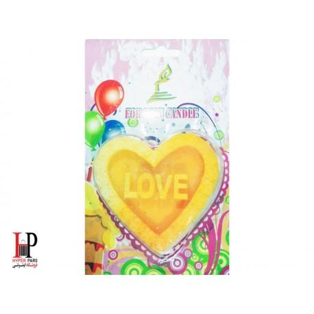 شمع قلبی Love