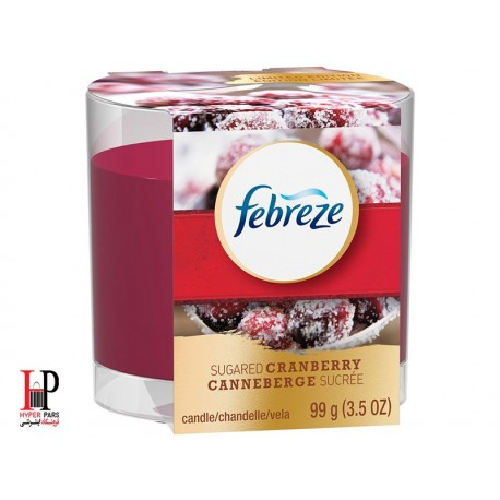شمع فبریز با رایحه ذغال اخته شکری febreze