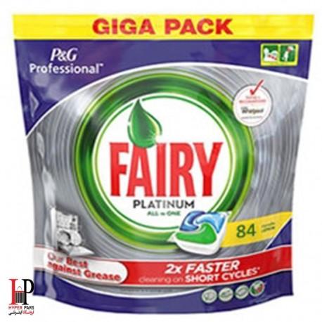 قرص ماشین ظرفشویی پلاتینوم جار 84 عددی فیری Fairy