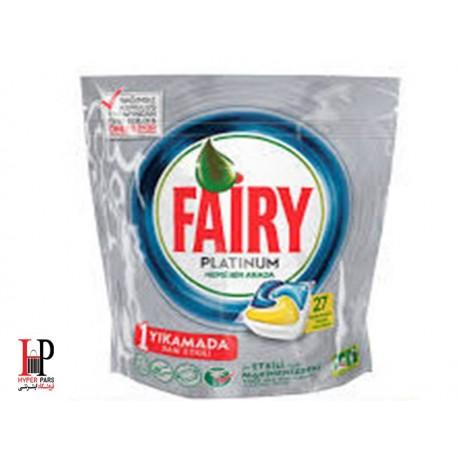 قرص ماشین ظرفشویی پلاتینوم 27 عددی فیری Fairy