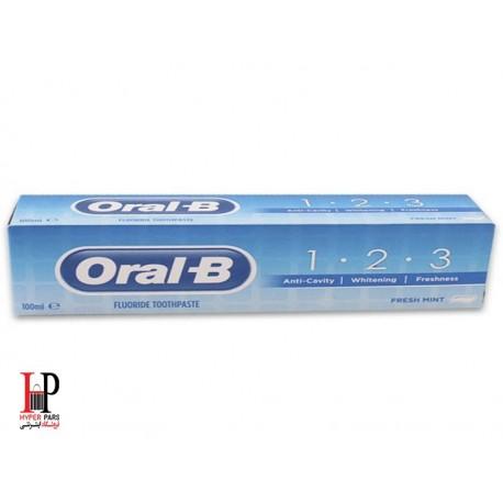 خمیر دندان 3کاره اورال-بی Oral-B