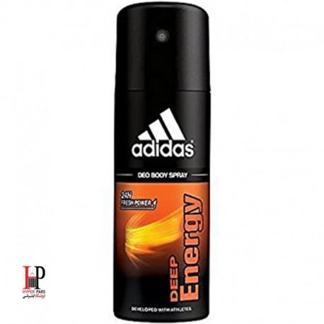 اسپری بدن آدیداس مدل Adidas Deep Energy