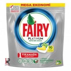 قرص ماشین ظرفشویی پلاتینوم 90 عددی فیری Fairy