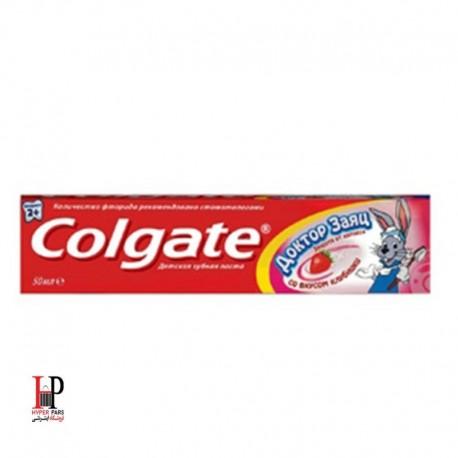 خمیر دندان مخصوص کودکان با طعم توت فرنگی کولگیت Colgate