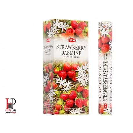 عود گل یاس توت فرنگیHEM strawberry jasmine