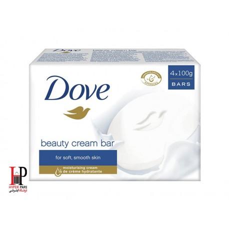 صابون مرطوب کننده بیوتی کرم بار شیر 135 گرمی داو (Dove)