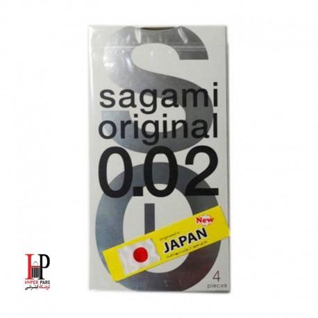 کاندوم ساگامی 4عددی Sagami Polyurethane