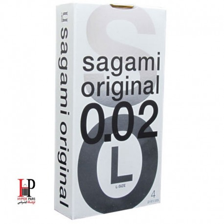 کاندوم ساگامی لارج 4 عددی sagami Large