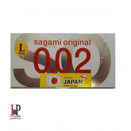 کاندوم ساگامی لارج 2 عددیsagami Large