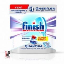 قرص ماشین ظرفشویی اکسی کوانتوم 80 عددی فینیش (Finish)