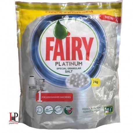 نمک ماشین ظرفشویی پلاتینیوم فیری