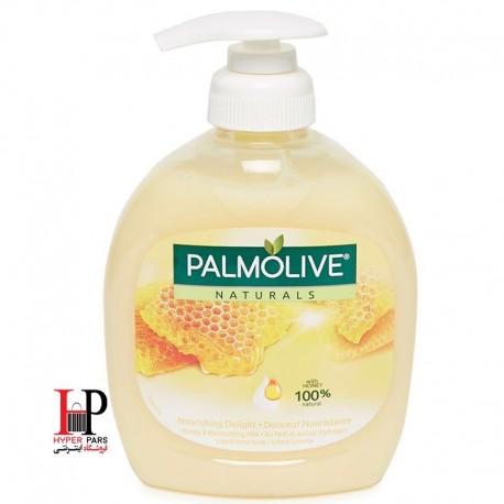 مایع دستشویی مغذی و آبرسان حاوی شیر و عسل پالمولیو 300 میلی لیتر PALMOLIVE