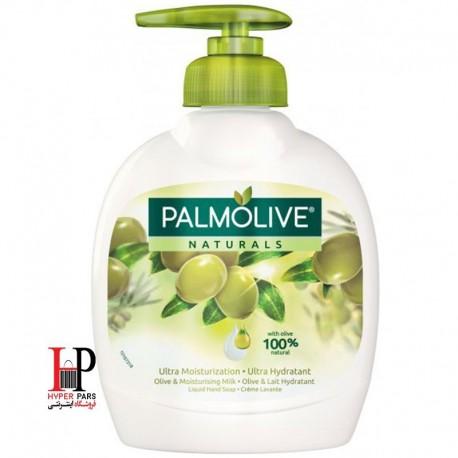 مایع دستشویی مرطوب کننده و آبرسان پالمولیو حاوی زیتون و آلوئه ورا 300 میلی لیتر PALMOLIVE