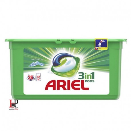 کپسول ژله ای ماشین لباسشویی آریل 35 عددی(ARIEL)