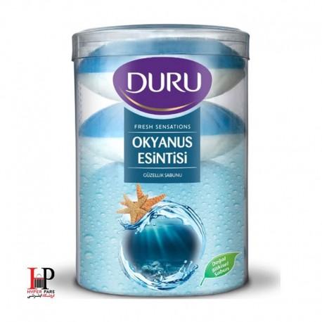 صابون دورو سری fresh sensations با رایحه نسیم اقیانوس بسته 4 عددی DURU