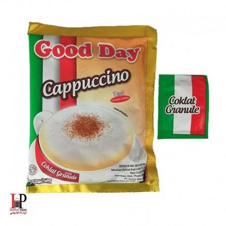کاپوچینو فوری همراه با پودر شکلات گود دی 30عددی (Good Day)