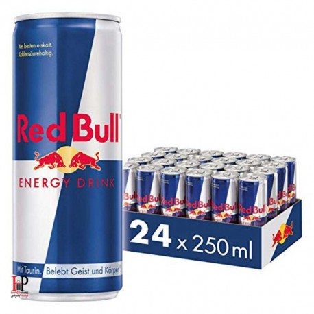 پک 24 عددی نوشیدنی انرژی زای 250 میلی لیتری ردبول (Red bull)