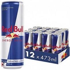پک 12 عددی نوشیدنی انرژی زای 473 میلی لیتری ردبول (Red bull)