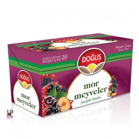 چای میوه های بنفش 20 عددی دوغوش (Dogus)