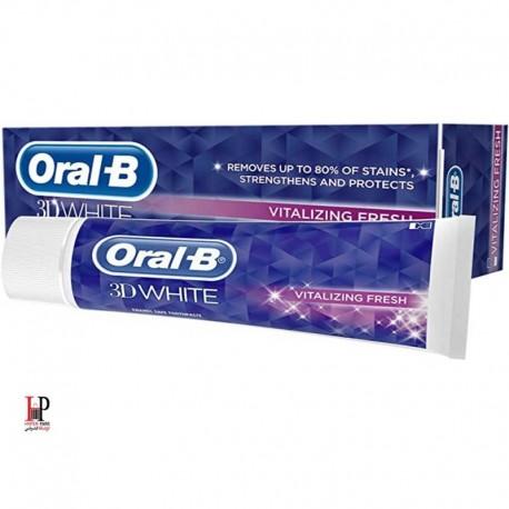 خمیر دندان اورال بی مدل Vitalizing Fresh حجم 75 میل