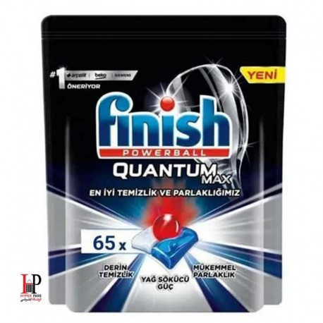 قرص ماشین ظرفشویی فینیش مدل کوانتوم مکس 65 عددی