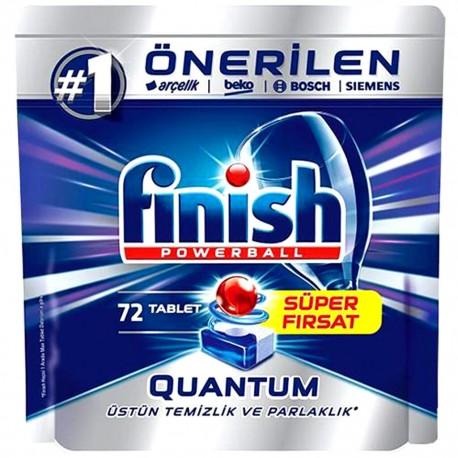 قرص ماشین ظرفشویی کوانتوم 72 عددی فینیش Finish